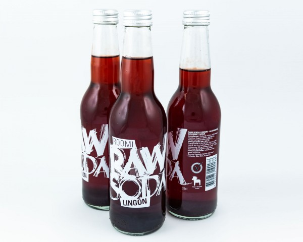 Raw Soda bottles