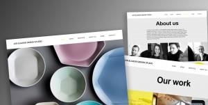 Produktion och design av webbsajt.